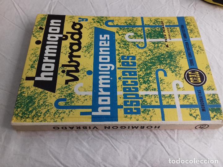 HORMIGON VIBRADO-HORMIGONES ESPECIALES-M.PAYA PEINADO-Nº 43-MONOGRAFIAS CEAC-1963 (Libros de Segunda Mano - Bellas artes, ocio y coleccionismo - Arquitectura)