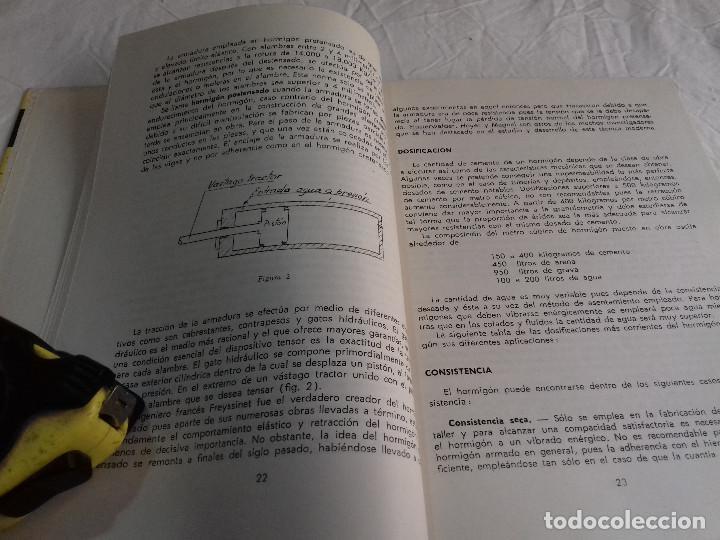 Libros de segunda mano: HORMIGON VIBRADO-HORMIGONES ESPECIALES-M.PAYA PEINADO-Nº 43-MONOGRAFIAS CEAC-1963 - Foto 3 - 78532841