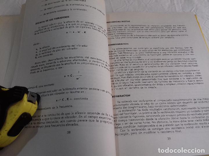 Libros de segunda mano: HORMIGON VIBRADO-HORMIGONES ESPECIALES-M.PAYA PEINADO-Nº 43-MONOGRAFIAS CEAC-1963 - Foto 5 - 78532841