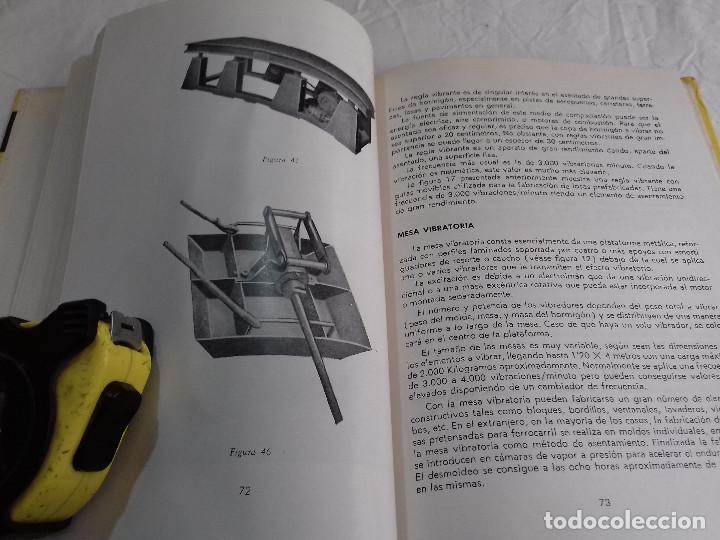Libros de segunda mano: HORMIGON VIBRADO-HORMIGONES ESPECIALES-M.PAYA PEINADO-Nº 43-MONOGRAFIAS CEAC-1963 - Foto 6 - 78532841