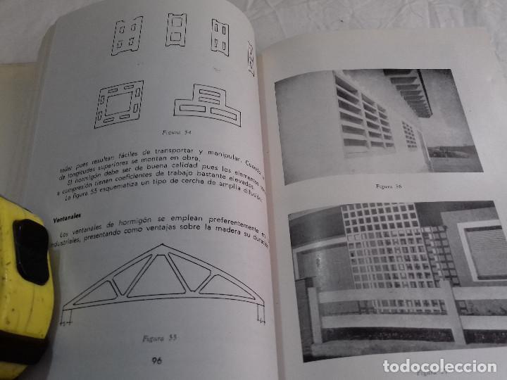 Libros de segunda mano: HORMIGON VIBRADO-HORMIGONES ESPECIALES-M.PAYA PEINADO-Nº 43-MONOGRAFIAS CEAC-1963 - Foto 8 - 78532841