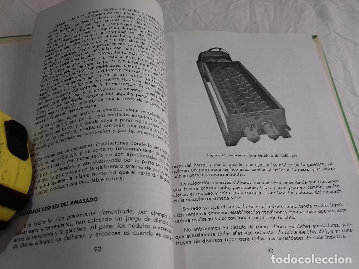 Libros de segunda mano: TECNICA Y PRACTICA DE LA INDUSTRIA LADRILLERA (I) -Nº 44-MONOGRAFIAS CEAC-1963 - Foto 6 - 78533177