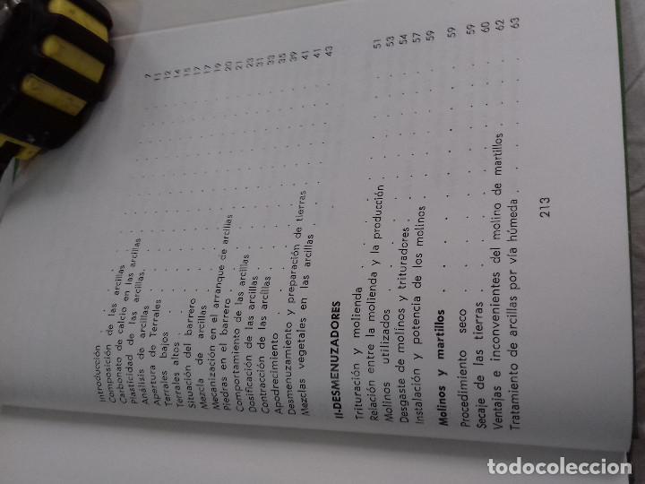 Libros de segunda mano: TECNICA Y PRACTICA DE LA INDUSTRIA LADRILLERA (I) -Nº 44-MONOGRAFIAS CEAC-1963 - Foto 12 - 78533177