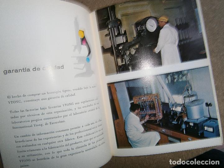 Libros Arquitecto Arquitectura Ytong Hormigon Ligero Catalogo 15x21 Cm 35 Pag