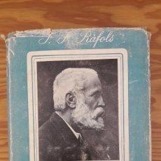 Libros de segunda mano: J.F. RÁFOLS : GAUDÍ, 1852-1926. Lote 128921594