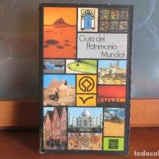 Libros de segunda mano: GUÍA DEL PATRIMONIO MUNDIAL. UNESCO. RG.. Lote 80734022