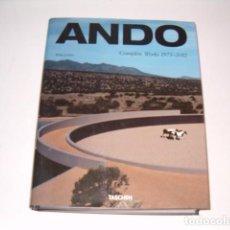 Libros de segunda mano: PHILIP JODIDIO. ANDO: COMPLETE WORKS 1975 - 2012. RM80224. . Lote 84820368