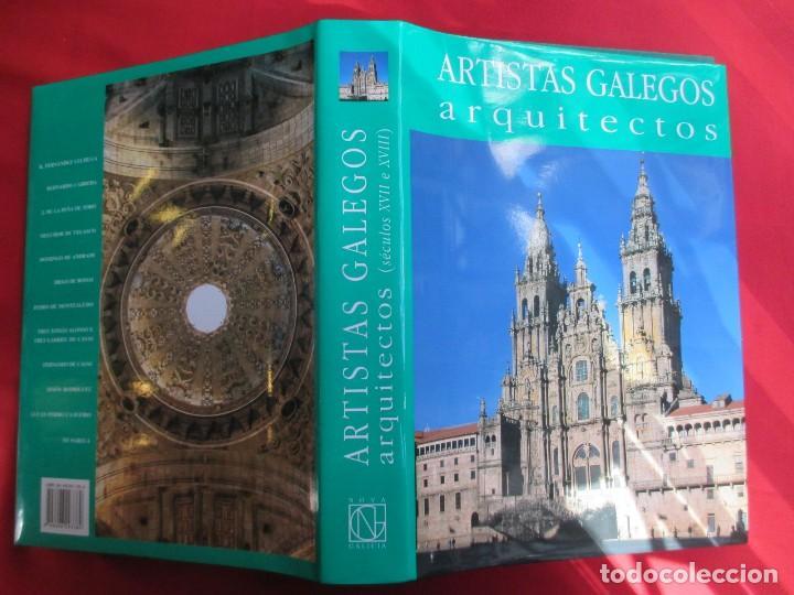 ARTISTAS GALEGOS, ARQUITECTOS ´ SECULOS XVII E XVIII ´ - EDI NOVA GALICIA 2004 VV.AA + INFO (Libros de Segunda Mano - Bellas artes, ocio y coleccionismo - Arquitectura)