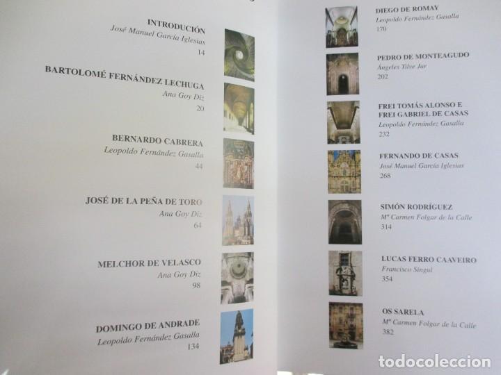 Libros de segunda mano: ARTISTAS GALEGOS, ARQUITECTOS ´ SECULOS XVII E XVIII ´ - EDI NOVA GALICIA 2004 VV.AA + INFO - Foto 4 - 85092772
