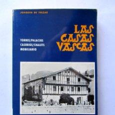 Libros de segunda mano: LAS CASAS VASCAS. JOAQUIN DE YRIZAR. MUCHISIMAS ILUSTRACIONES. Lote 86122698