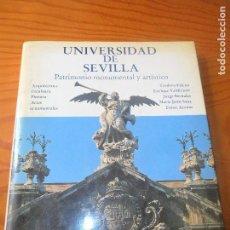 Libros de segunda mano: UNIVERSIDAD DE SEVILLA, PATRIMONIO MONUMENTAL Y ARTISTICO - EDICIÓN LUJO 1986. Lote 86308428