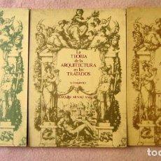 Libros de segunda mano - La teoría de la arquitectura en los tratados, de Joaquín Arnau Amo. Obra completa 3 tomos. - 86456668