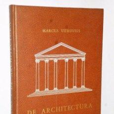Libros de segunda mano: DE ARCHITECTURA. Lote 86487788