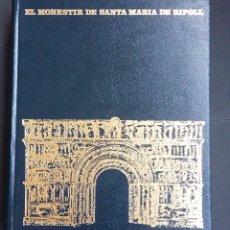 Libros de segunda mano: EL MONESTIR DE SANTA MARIA DE RIPOLL - EDUARD JUNYENT - 1975 . Lote 88812980