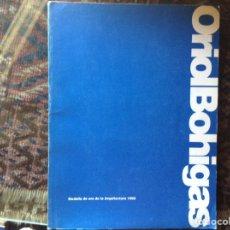 Libros de segunda mano: ORIOL BOHIGAS. Lote 89262007