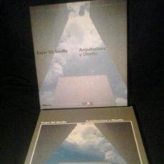 Libros de segunda mano: EXPO 92 SEVILLA : ARQUITECTURA Y DISEÑO. Lote 89319812