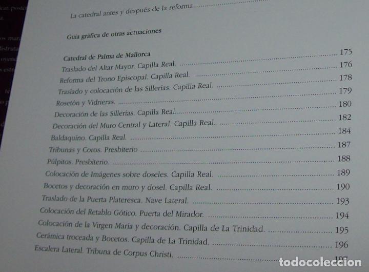 Libros de segunda mano: GAUDÍ EN MALLORCA. LOS HIERROS Y OTRAS ACTUACIONES.GABRIEL VICENS. 2002. PIEZA DE COLECCIONISTA!!!!! - Foto 9 - 90388420