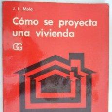 Como se proyecta una vivienda j l moia ed comprar libros de arquitectura en todocoleccion - Gastos vendedor vivienda segunda mano ...