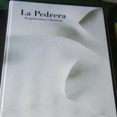 Libros de segunda mano: LA PEDRERA ARQUITECTURA E HISTORIA - DANIEL GIRALT-MIRACLE, CARLOS FLORES, JOSEP MARIA HUERTAS. Lote 91337255