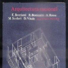Libros de segunda mano: ARQUITECTURA RACIONAL. - A-AT-699. Lote 91498715
