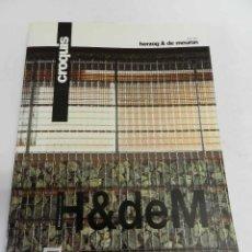 Libros de segunda mano: REVISTA EL CROQUIS Nº 84 AÑO 1997, HERZOG & DE MEURON ARQUITECTURA DISEÑO DESCATALOGADA. Lote 187116976