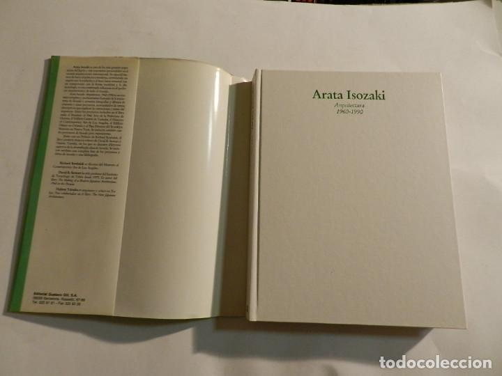 Libros de segunda mano: ARATA ISOZAKI: ARQUITECTURA 1960-1990 DAVID B. STEWART; HAJIME YATSUKA ARQUITECTURA gustavo gili - Foto 2 - 91929510