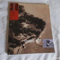 Libros de segunda mano: 3ZU REVISTA DE ARQUITECTURA Nº 1 GINEBRA 1927. Lote 92174430