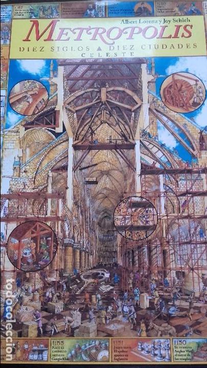 METRÓPOLIS. DIEZ SIGLOS, DIEZ CIUDADES, (CELESTE, 1996) (Libros de Segunda Mano - Bellas artes, ocio y coleccionismo - Arquitectura)