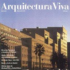 Libros de segunda mano: ARQUITECTURA VIVA 35 METRÓPOLIS CHOAY, VON MOOS, SOLÀ: EL PROYECTO DE LA CIUDAD EUROPEA III-IV 1994. Lote 94226475