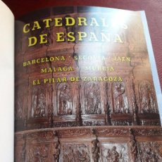 Libros de segunda mano: CATEDRALES DE ESPAÑA. BARCELONA. JAÉN. SEGOVIA. MÁLAGA. MURCIA. EL PILAR DE ZARAGOZA.. Lote 94269105