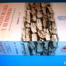 Libros de segunda mano: FORTALEZAS DE LUGO Y SU PROVINCIA. TOMOS IV -V - VI. MANUEL VÁZQUEZ SEIJAS.. Lote 94576591
