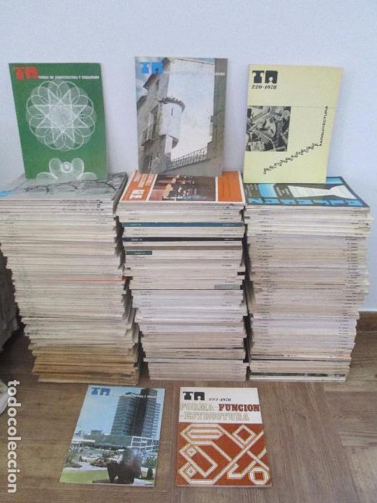 Libros de segunda mano: REVISTA TEMAS DE ARQUITECTURA Y URBANISMO. 1958-1979. DEL 1 AL 235 FALTANDO 35. LEER DESCRIPCION - Foto 2 - 94998119