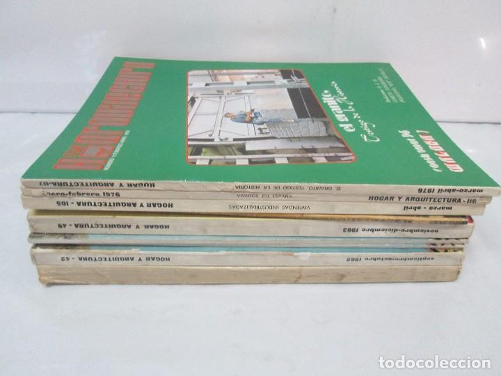 Libros de segunda mano: HOGAR Y ARQUITECTURA. 14 REVISTAS. Nº ALTERNOS. LEER DESCRIPCION. - Foto 5 - 95332639