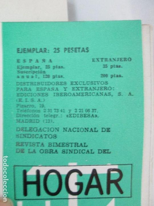 Libros de segunda mano: HOGAR Y ARQUITECTURA. 14 REVISTAS. Nº ALTERNOS. LEER DESCRIPCION. - Foto 11 - 95332639