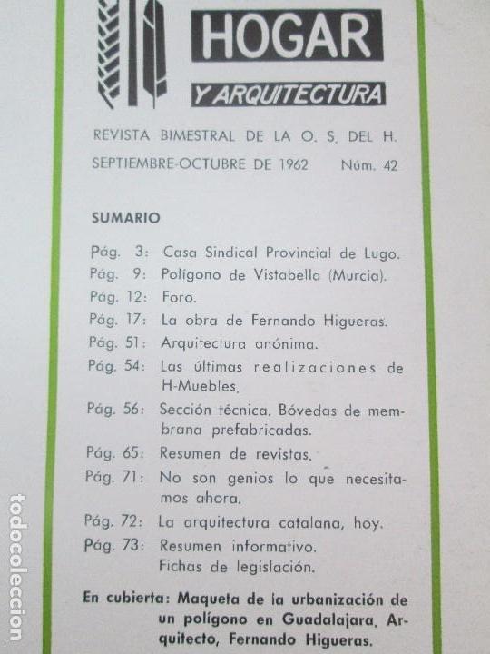 Libros de segunda mano: HOGAR Y ARQUITECTURA. 14 REVISTAS. Nº ALTERNOS. LEER DESCRIPCION. - Foto 15 - 95332639