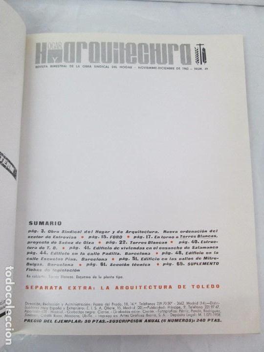 Libros de segunda mano: HOGAR Y ARQUITECTURA. 14 REVISTAS. Nº ALTERNOS. LEER DESCRIPCION. - Foto 32 - 95332639