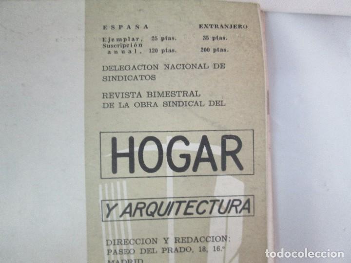 Libros de segunda mano: HOGAR Y ARQUITECTURA. 14 REVISTAS. Nº ALTERNOS. LEER DESCRIPCION. - Foto 42 - 95332639