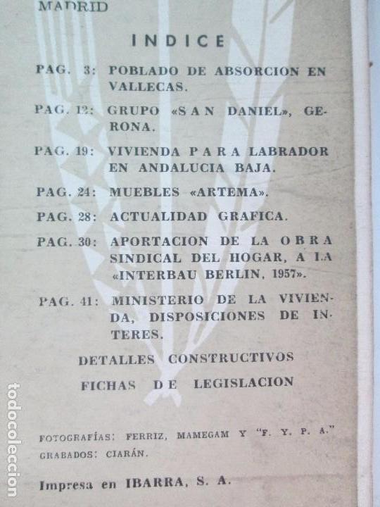 Libros de segunda mano: HOGAR Y ARQUITECTURA. 14 REVISTAS. Nº ALTERNOS. LEER DESCRIPCION. - Foto 43 - 95332639