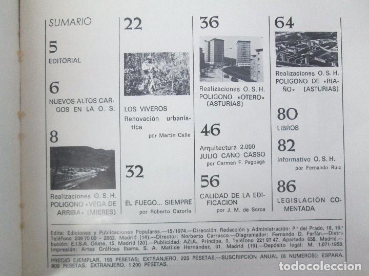 Libros de segunda mano: HOGAR Y ARQUITECTURA. 14 REVISTAS. Nº ALTERNOS. LEER DESCRIPCION. - Foto 62 - 95332639