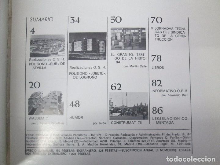 Libros de segunda mano: HOGAR Y ARQUITECTURA. 14 REVISTAS. Nº ALTERNOS. LEER DESCRIPCION. - Foto 71 - 95332639