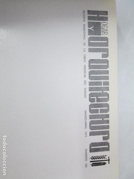 Libros de segunda mano: HOGAR Y ARQUITECTURA. 14 REVISTAS. Nº ALTERNOS. LEER DESCRIPCION. - Foto 78 - 95332639