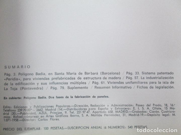 Libros de segunda mano: HOGAR Y ARQUITECTURA. 14 REVISTAS. Nº ALTERNOS. LEER DESCRIPCION. - Foto 79 - 95332639