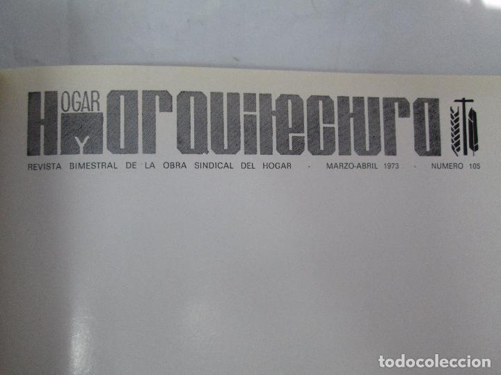 Libros de segunda mano: HOGAR Y ARQUITECTURA. 14 REVISTAS. Nº ALTERNOS. LEER DESCRIPCION. - Foto 85 - 95332639