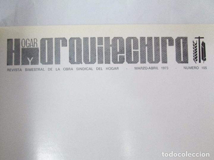 Libros de segunda mano: HOGAR Y ARQUITECTURA. 14 REVISTAS. Nº ALTERNOS. LEER DESCRIPCION. - Foto 92 - 95332639