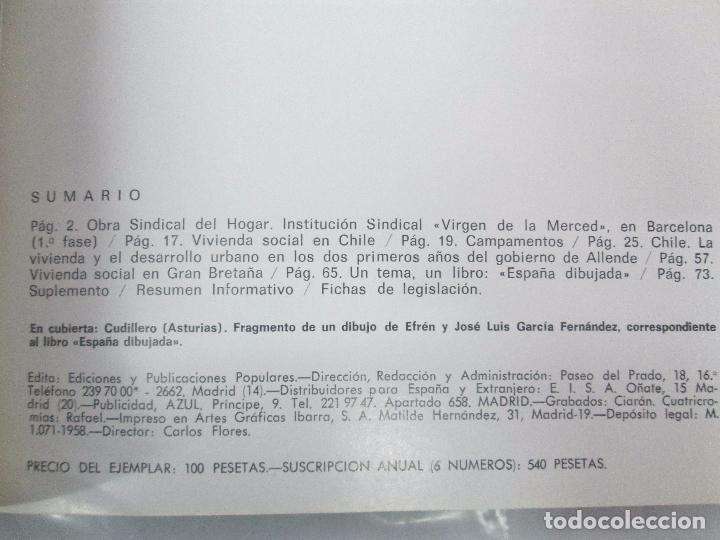 Libros de segunda mano: HOGAR Y ARQUITECTURA. 14 REVISTAS. Nº ALTERNOS. LEER DESCRIPCION. - Foto 101 - 95332639