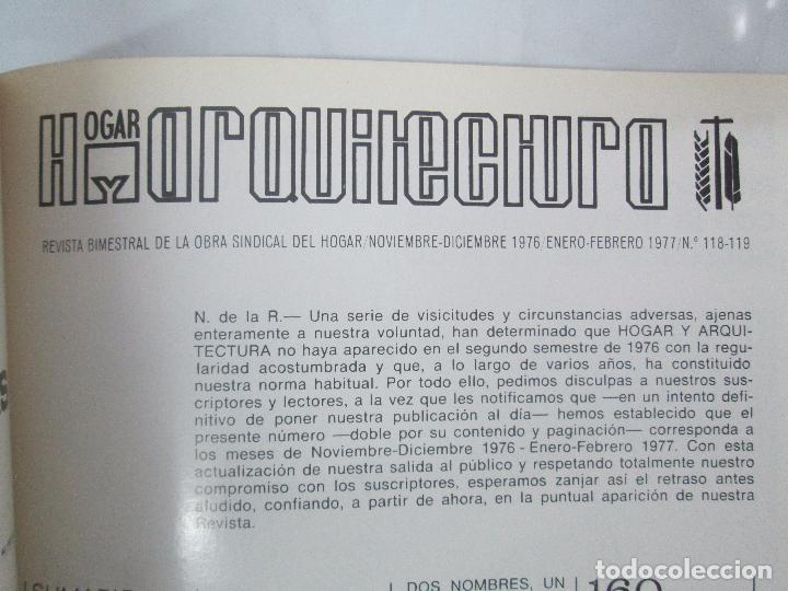Libros de segunda mano: HOGAR Y ARQUITECTURA. 14 REVISTAS. Nº ALTERNOS. LEER DESCRIPCION. - Foto 108 - 95332639
