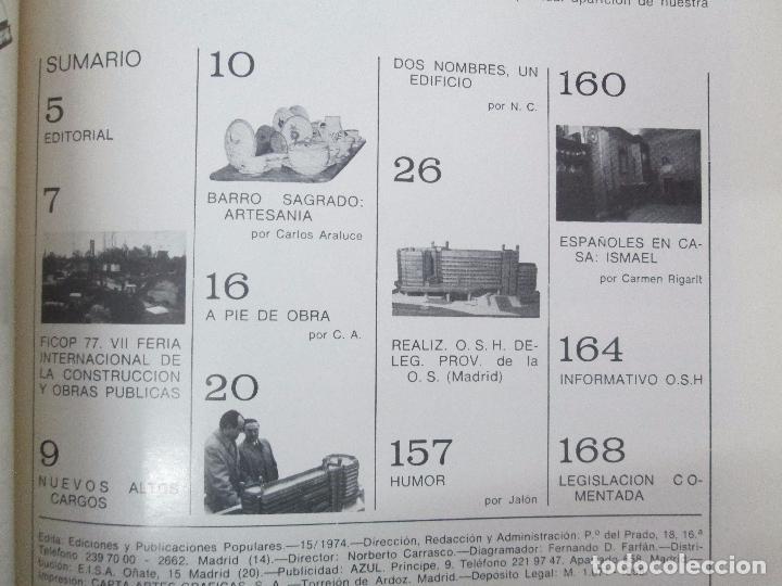 Libros de segunda mano: HOGAR Y ARQUITECTURA. 14 REVISTAS. Nº ALTERNOS. LEER DESCRIPCION. - Foto 109 - 95332639