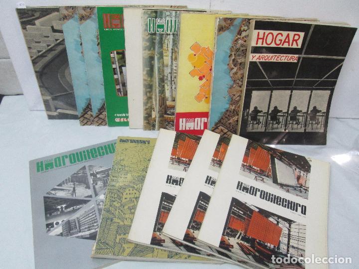 HOGAR Y ARQUITECTURA. 14 REVISTAS. Nº ALTERNOS. LEER DESCRIPCION. (Libros de Segunda Mano - Bellas artes, ocio y coleccionismo - Arquitectura)