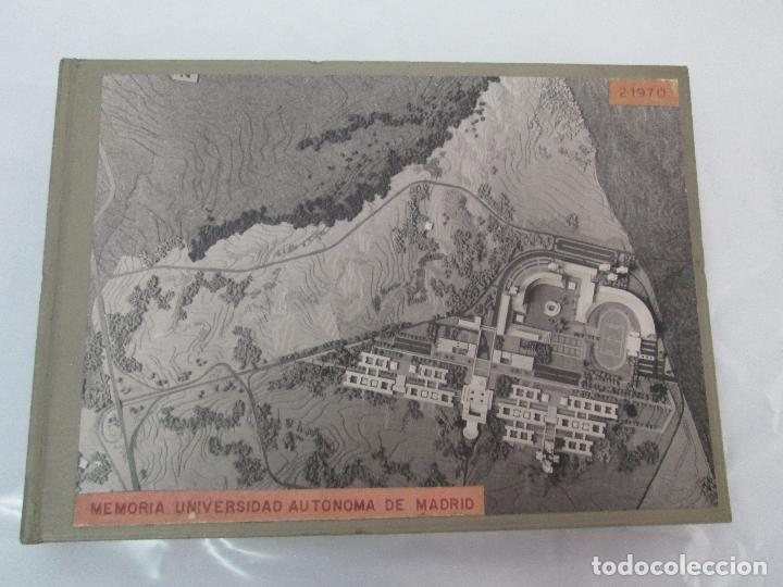 Libros de segunda mano: MEMORIA UNIVERSIDAD AUTONOMA DE MADRID. 21970. ARQUITECTURA PLANOS. VER FOTOGRAFIAS ADJUNTAS - Foto 6 - 95870379