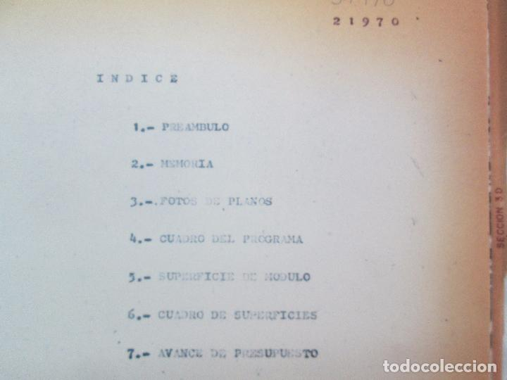 Libros de segunda mano: MEMORIA UNIVERSIDAD AUTONOMA DE MADRID. 21970. ARQUITECTURA PLANOS. VER FOTOGRAFIAS ADJUNTAS - Foto 7 - 95870379